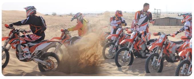 KTM Dubai, KTM Bike Ride Dubai, ktm bike tour dubai, ktm bike adventure dubai, ktm bike rental dubai, KTM Motorbike Motocross Desert Tours